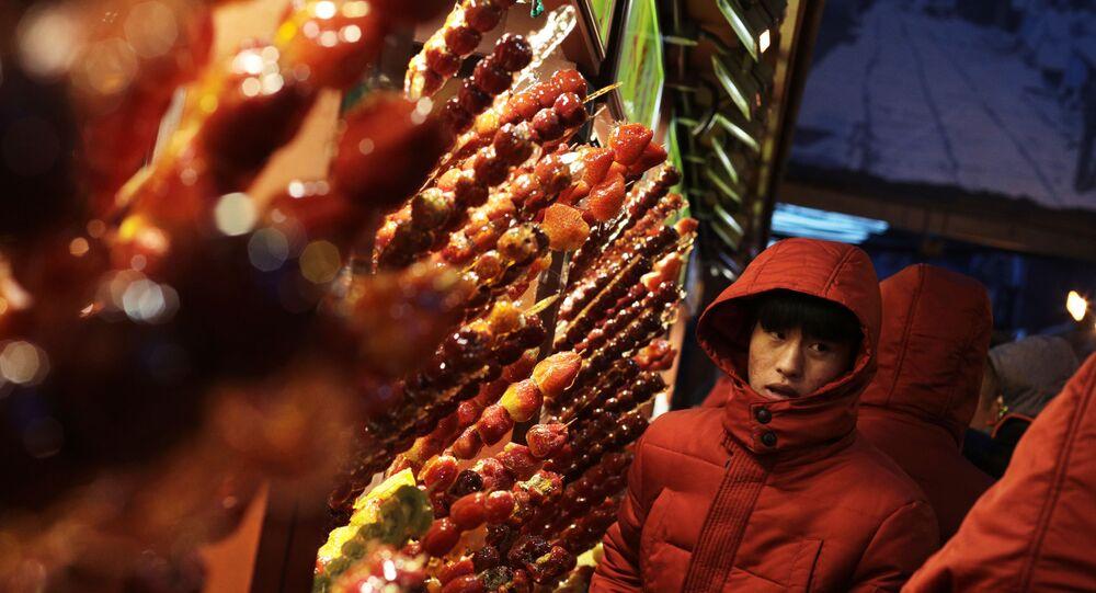 Marché à Pékin