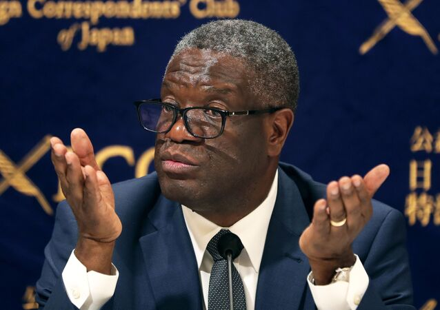 Le prix Nobel de la paix Denis Mukwege