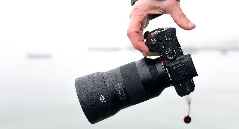 Un appareil de photo (image d'illustration)