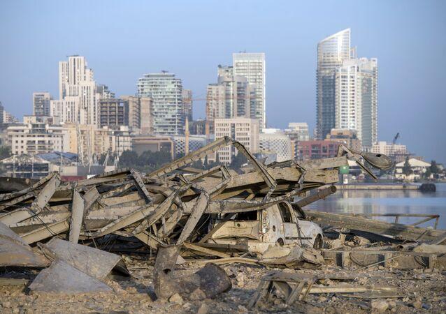 Beyrouth après l'explosion