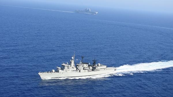 Exercices en mer Méditerranée, le 13 août 2020 - Sputnik France