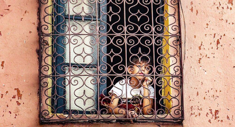 Une enfant au Maroc