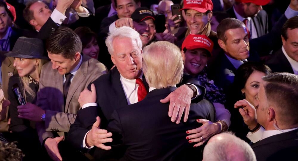 Donald Trump et Robert Trump