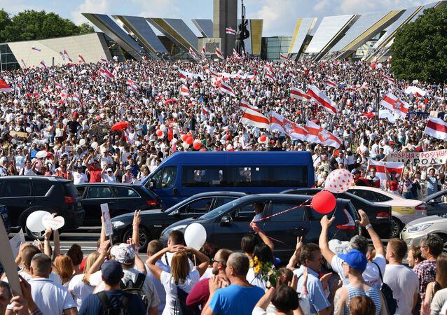 Marche pancitoyenne «Pour la liberté» à Minsk