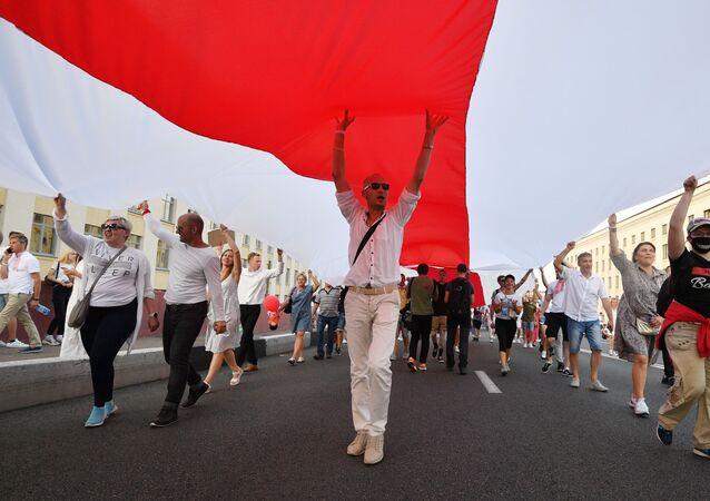 Action de protestation à Minsk