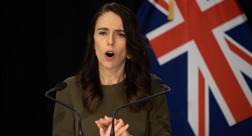 Première ministre Jacinda Ardern