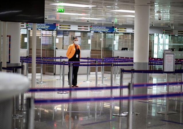 L'aéroport Roissy-Charles de Gaulle (Paris-CDG), le 14 mai 2020