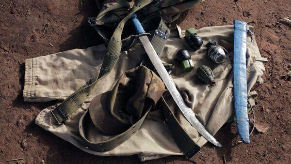 Une machette, des grenades saisies au Cameroun - Sputnik France