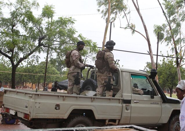 base de Kati, à la périphérie de Bamako, image d'illustration