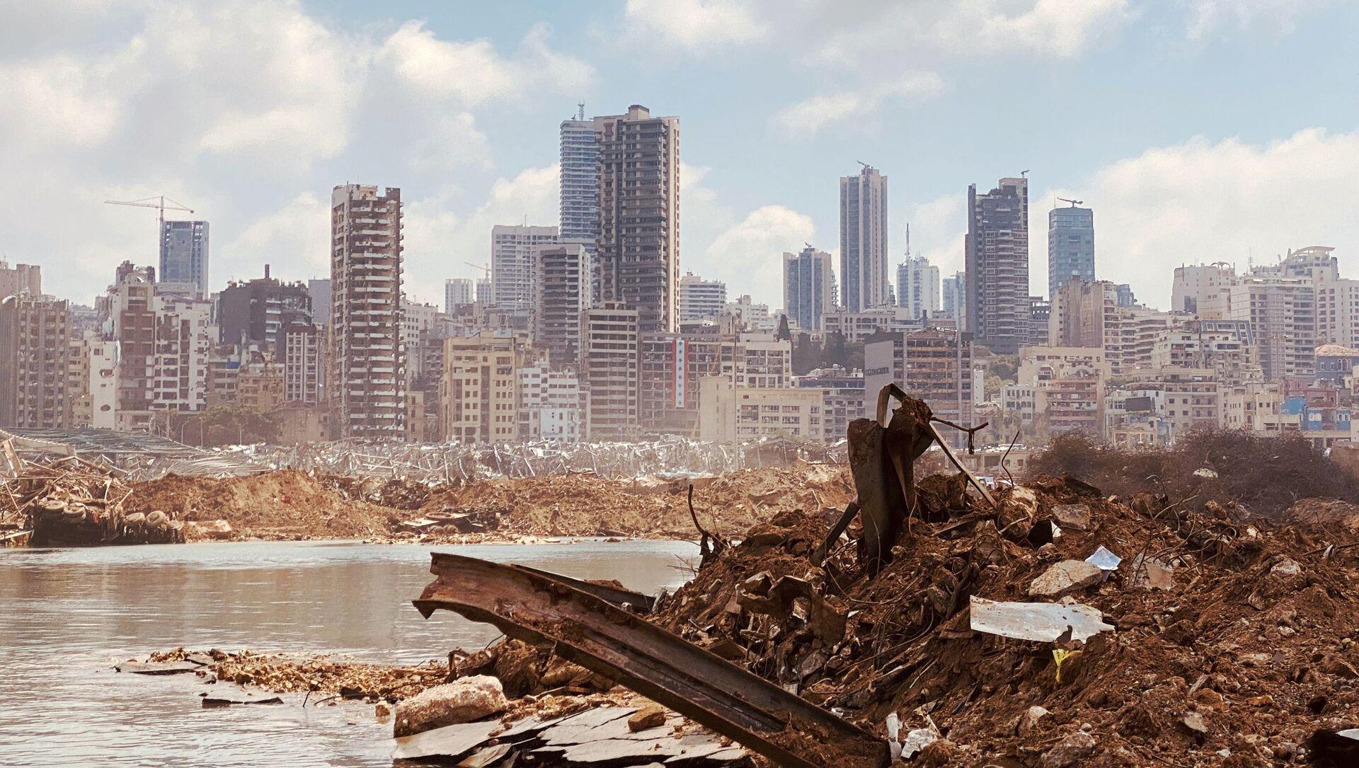 Port de Beyrouth après l'explosion  - Sputnik France, 1920, 29.07.2021