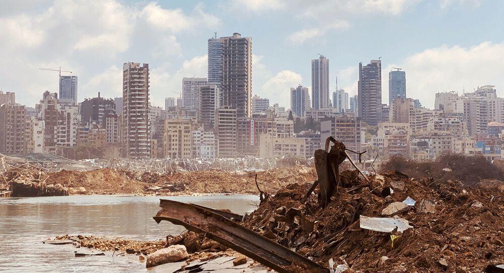 Conséquences de l'explosion au port de Beyrouth
