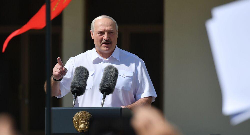 Alexandre Loukachenko le 16 août 2020