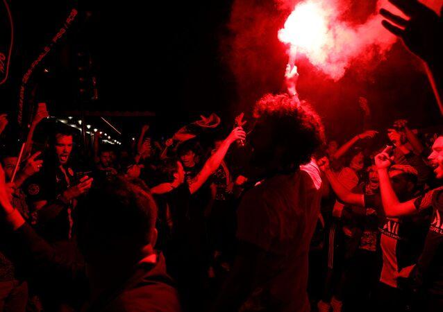 Des supporters du PSG