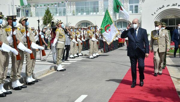Le Président Abdelmadjid Tebboune en visite au ministère de la Défense nationale - Sputnik France