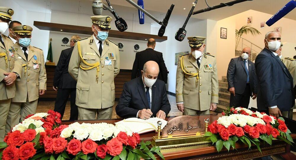 Le Président Abdelamadjid Tebboune