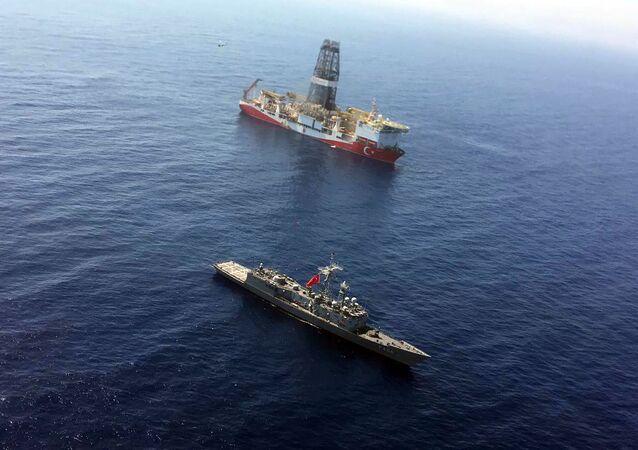 Le navire de forage turc Fatih (archive photo)