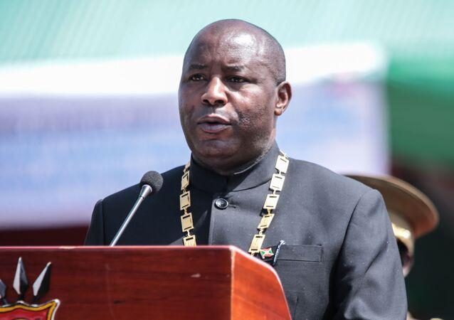 Le Président burundais Evariste Ndayishimiye