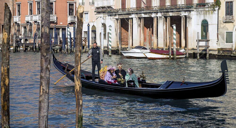 Venise, la capitale de la région de Vénétie