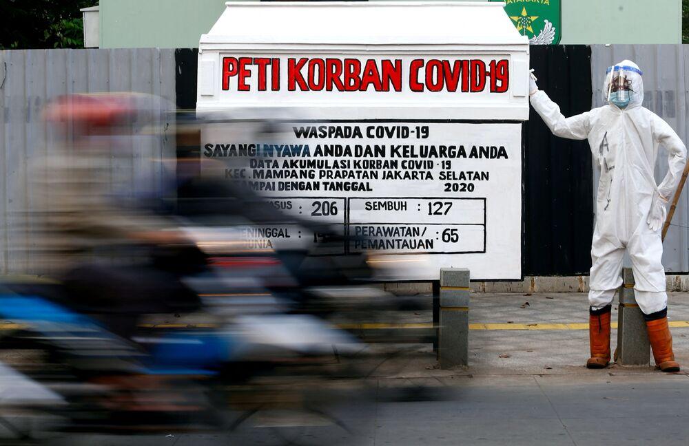 Une mise en garde contre le Covid-19 en Indonésie