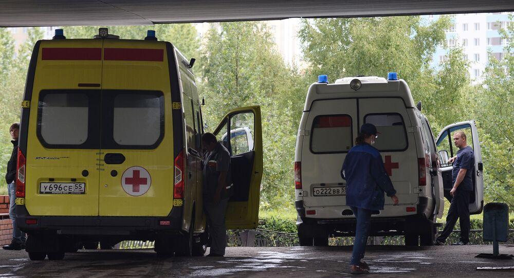 L'hôpital d'Omsk où était hospitalisé Alexeï Navalny