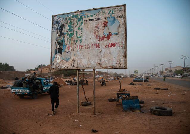 Une rue de Niamey, Niger