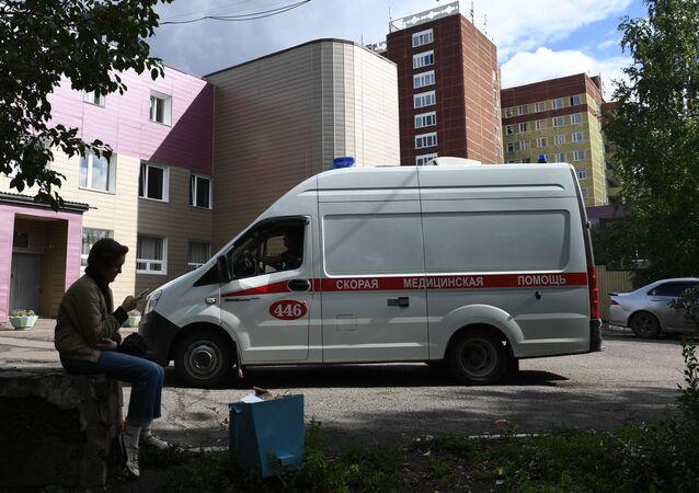L'hôpital des soins d'urgence N°1 d'Omsk