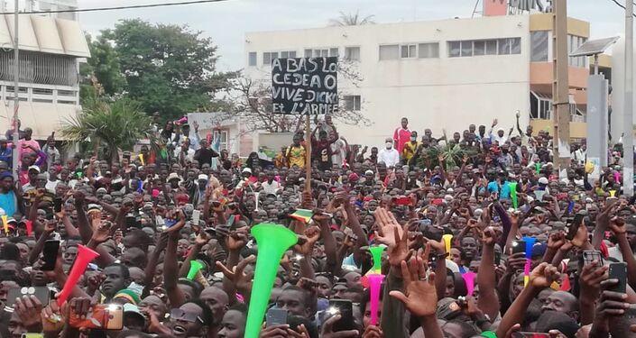 Manifestations à Bamako