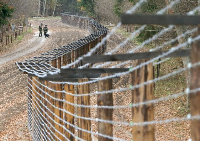 La frontière entre la Biélorussie et la Pologne (archive photo)