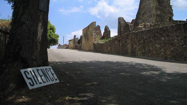 Oradour-sur-Glane, chemin d'accès du village martyr - Sputnik France