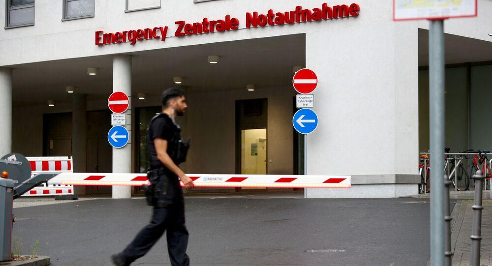 L'hôpital de Berlin où a été transporté Alexeï Navalny