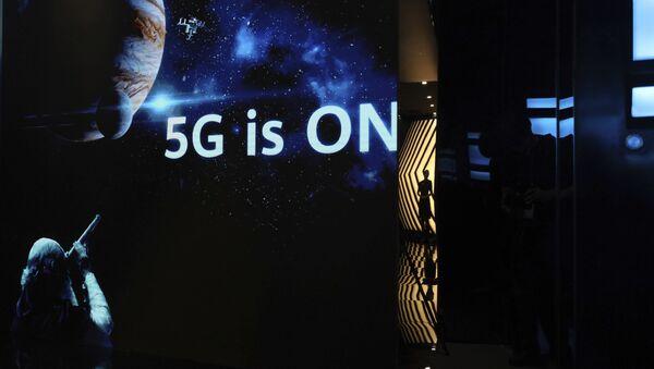promotion des technologies 5G de Huawei  - Sputnik France