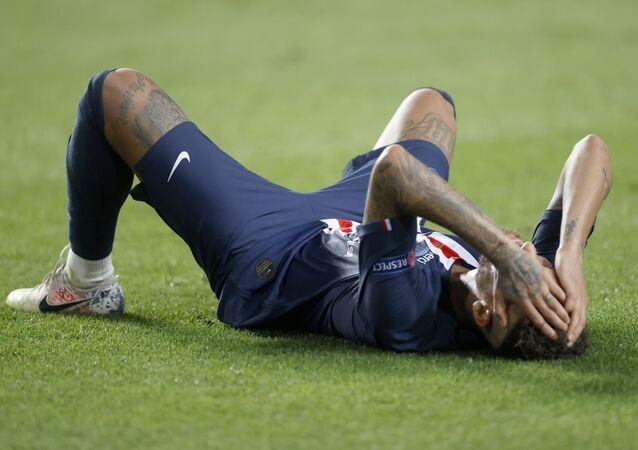 Neymar après la défaite du PSG