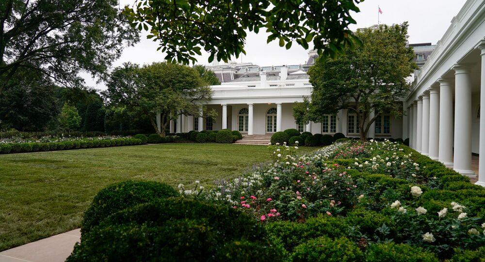 La roseraie de la Maison-Blanche renouvelée, le 22 août