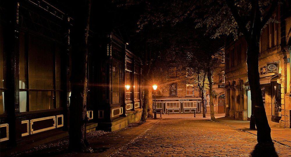 Une ville nocturne