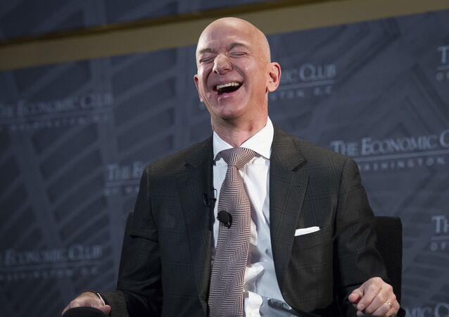Jeff Bezos, fondateur et CEO d'Amazon