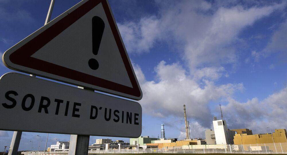 unité de retraitement de déchets nucléaires, image d'illustration