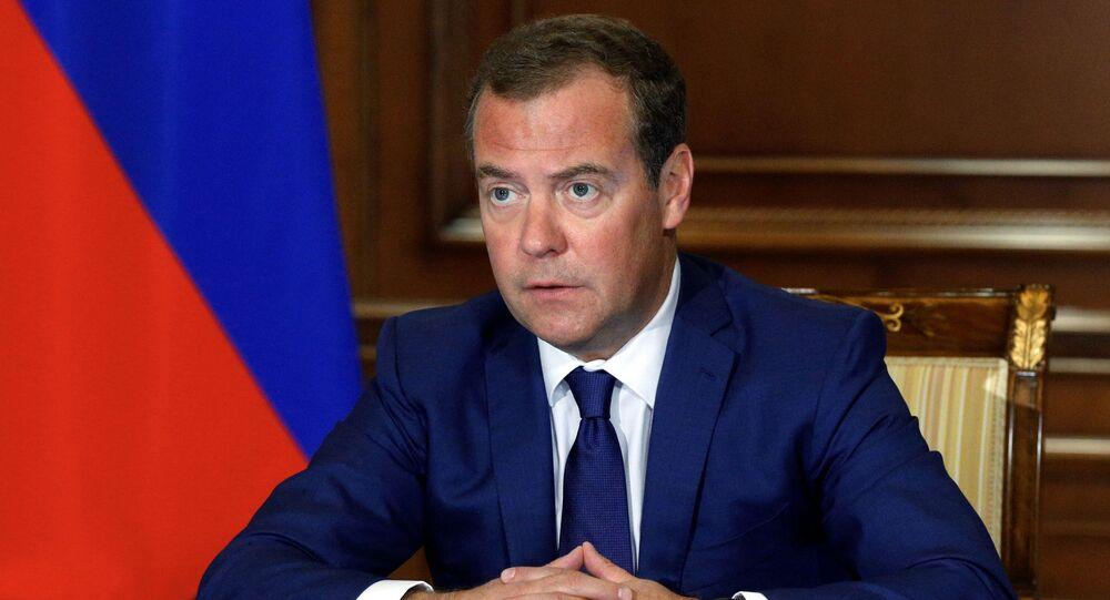 Dmitri Medvedev, vice-président du Conseil de sécurité de Russie