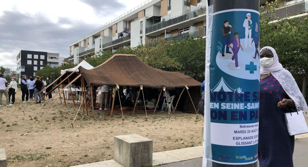 Une action Prévention Santé à Stains, en Seine-Saint-Denis
