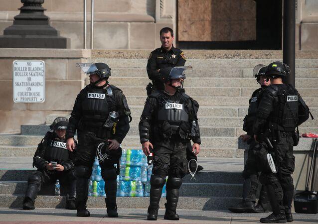 police à Kenosha
