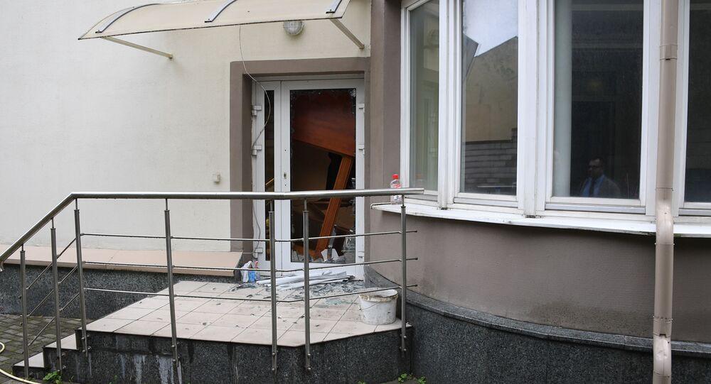 L'ambassade libyenne à Minsk attaquée, le 27 août