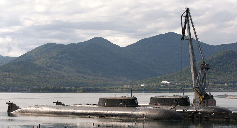 Une base de sous-marins de la Flotte du Pacifique