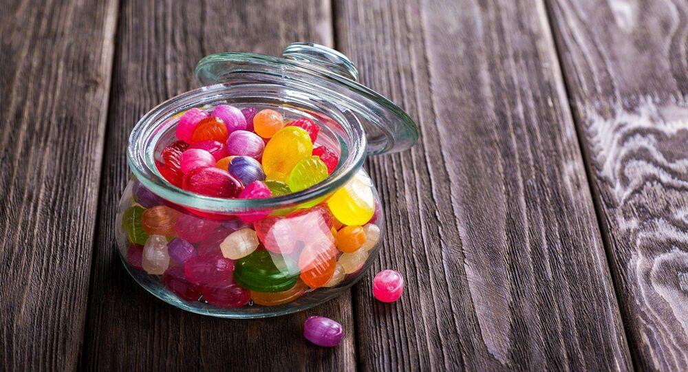 Des sucreries aux colorants