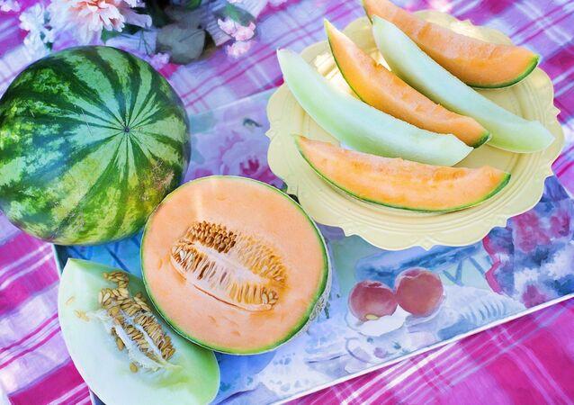 Melons et pastèque