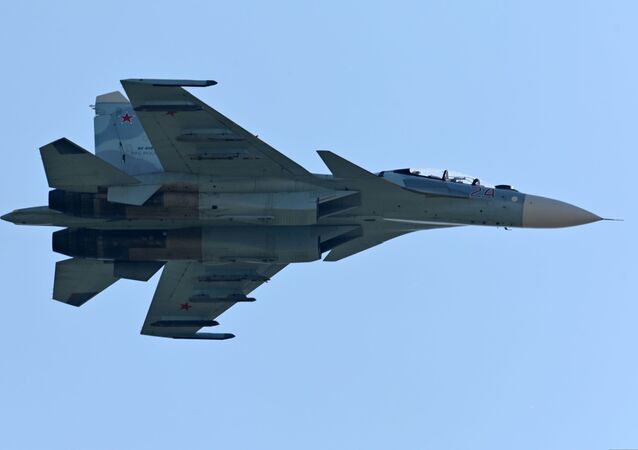 Un avion Su-27 (archive photo)