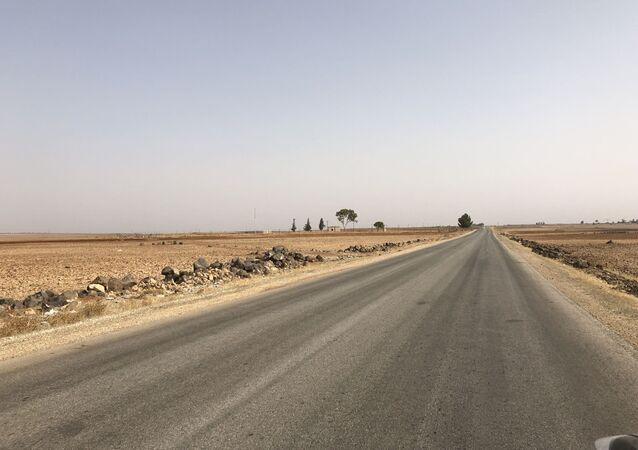 Une route, Syrie (image d'illustration)