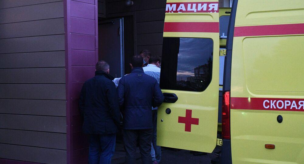 Transfert d'Alexeï Navalny de Russie en Allemagne