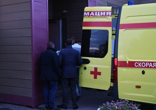 Transfert d'Alexeï Navalny de Russie en Allemagne (archive photo)