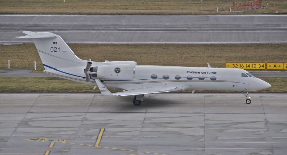 Un Gulfstream IV de l'Armée de l'air suédois (archive photo)