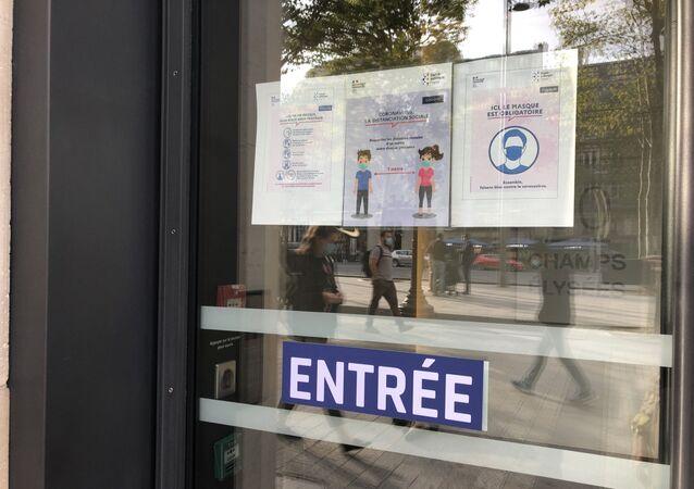 Coronavirus à Paris