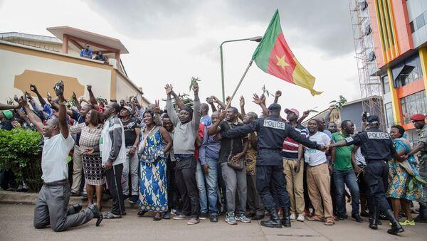 Les partisans de Maurice Kamto, leader de l'opposition au Cameroun - Sputnik France